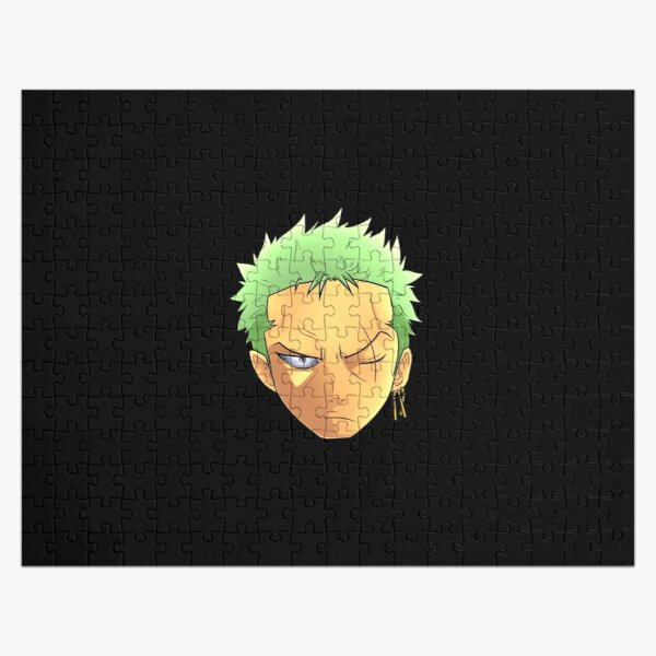 One Piece Roronoa Zorro Head Jigsaw Puzzle RB0605 product Offical Anime Puzzles Merch