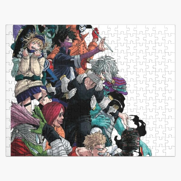 My Hero Academia League of Villains Jigsaw Puzzle RB0605 product Offical Anime Puzzles Merch