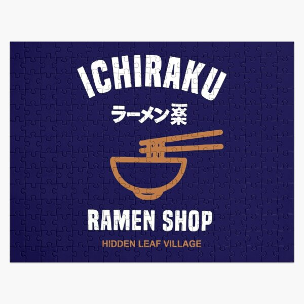 Ichiraku Ramen Jigsaw Puzzle RB0605 product Offical Anime Puzzles Merch