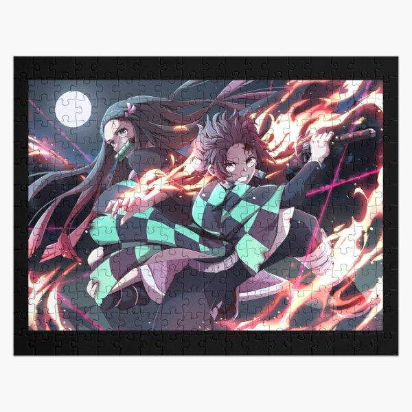 Demon Slayer - Kimetsu no Yaiba Jigsaw Puzzle RB0605 product Offical Anime Puzzles Merch