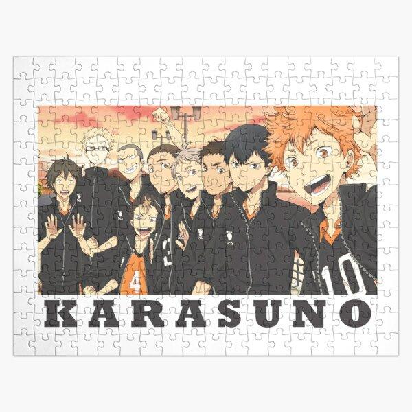 Karasuno team! (Haikyuu!) Jigsaw Puzzle RB0605 product Offical Anime Puzzles Merch